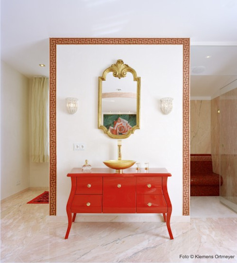 Kreative Badgestaltung Ausgefallene Badezimmer von erdmannbaeder Ausgefallen