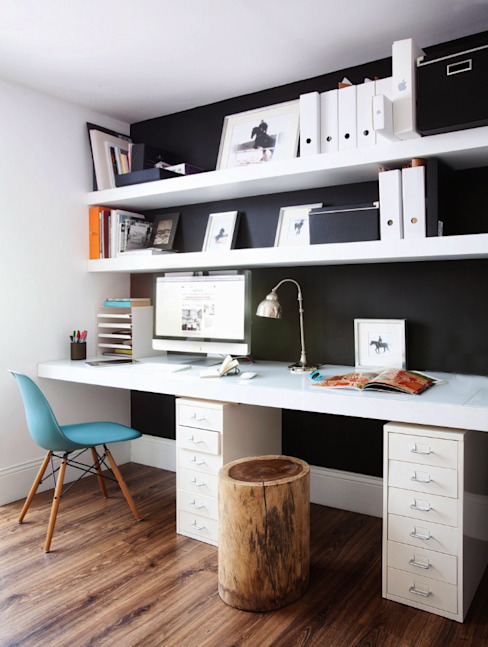Study/office by decoraCCion, Scandinavian