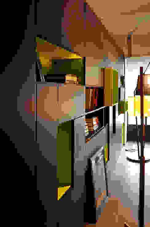 Studio di Architettura Rosso19 Living roomShelves