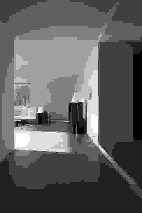 entree + wohnen Moderne Wohnzimmer von architekturbüro axel baudendistel Modern