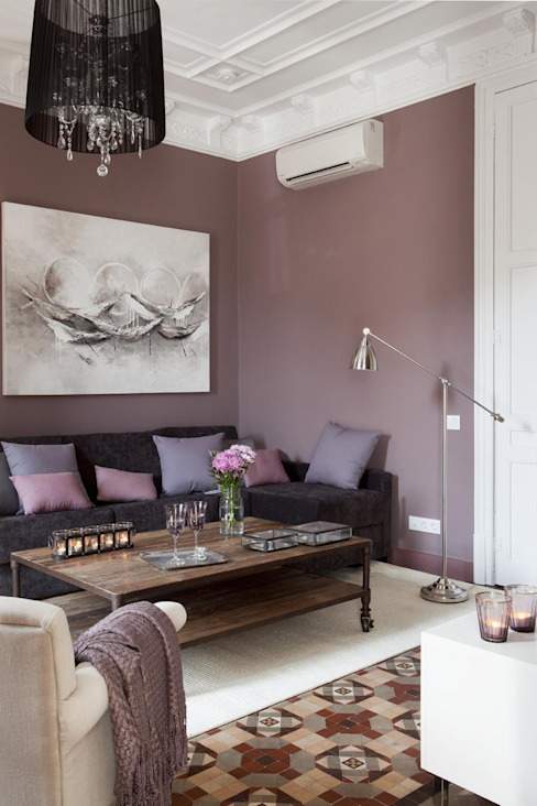 Гостиная в . Автор – Home Deco Decoración, Классический