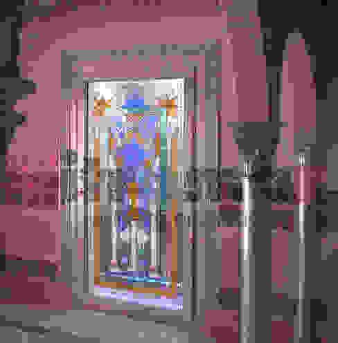 Vidriera puerta mudéjar de Vitromar Vidrieras Artísticas