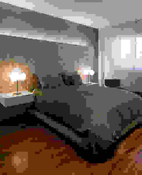 Dúplex Dormitorios de estilo moderno de AZ Diseño Moderno