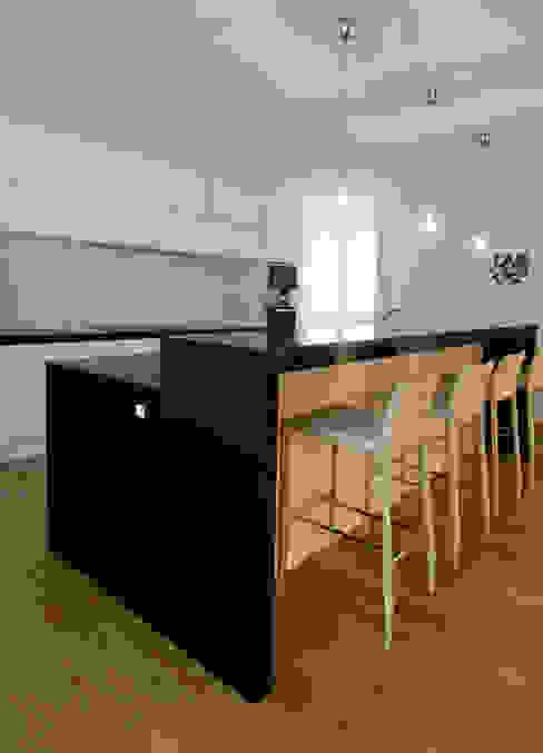 Piso 160 m2 Cocinas de AZ Diseño