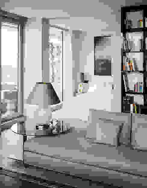 Marco Polo Tower Moderne Wohnzimmer von Davide Rizzo Modern