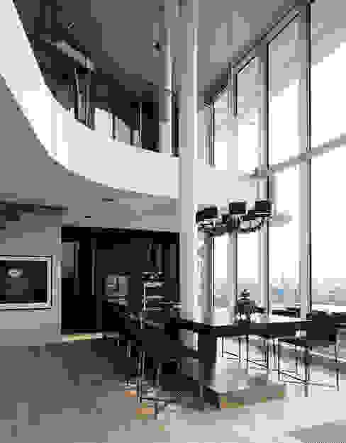 Marco Polo Tower Moderne Esszimmer von Davide Rizzo Modern