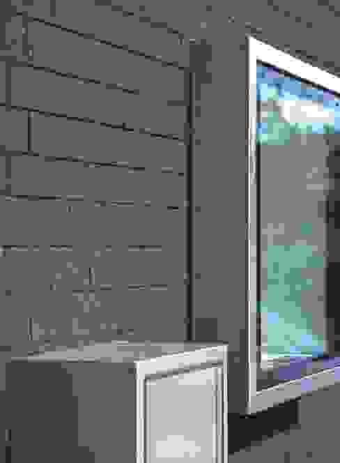 Fensterdetail von Peter Haimerl . Architektur