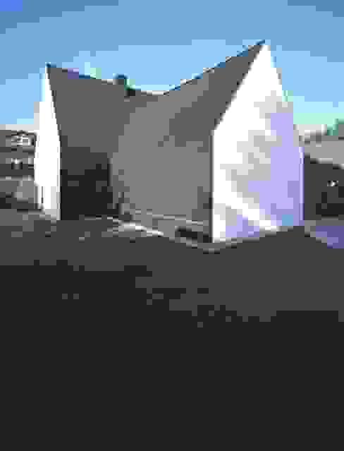 Rückseite Häuser von Peter Haimerl . Architektur