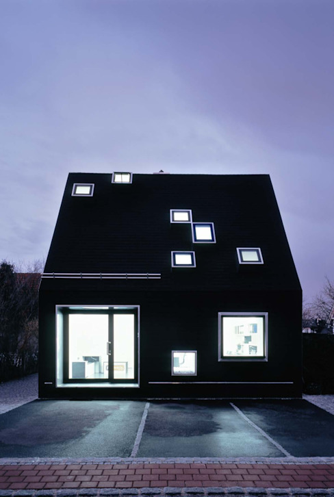 Huizen door Peter Haimerl . Architektur,