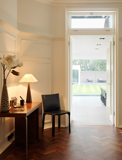 Wimbledon Modern corridor, hallway & stairs by Gregory Phillips Architects Modern