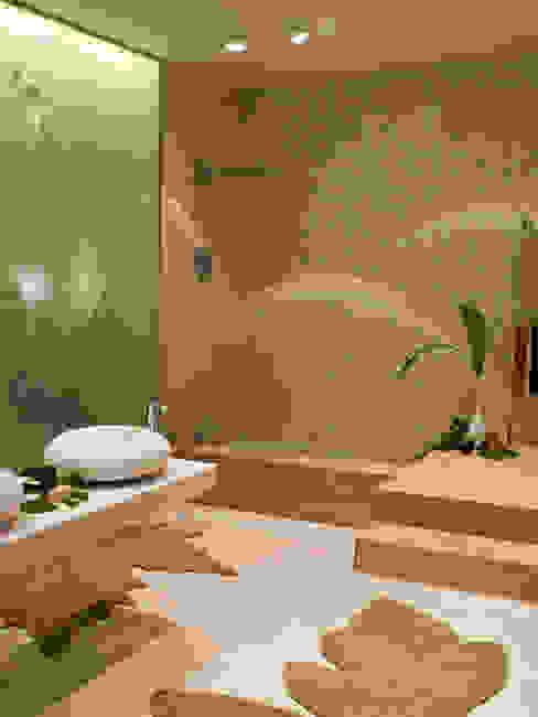 Baños de estilo mediterráneo de BARASONA Diseño y Comunicacion Mediterráneo