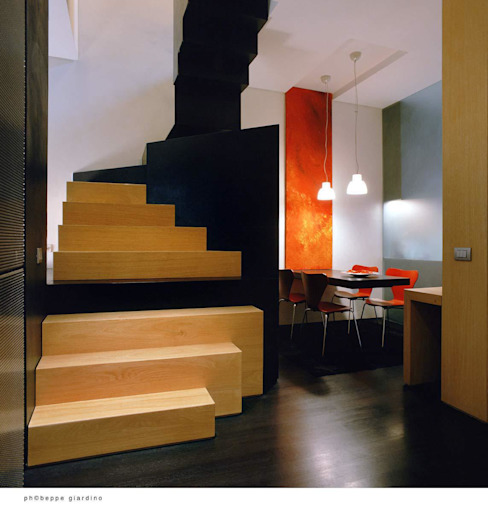 Corridor, hallway & stairs by raimondo guidacci
