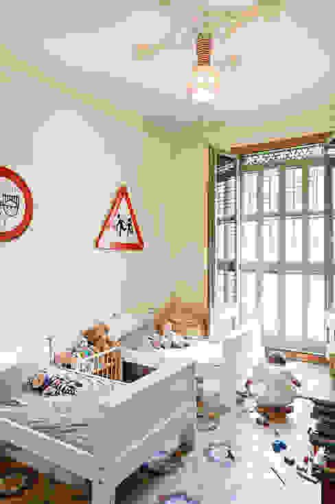 Dormitorio niños Reforma Consell de Cent Dormitorios infantiles de Anna & Eugeni Bach