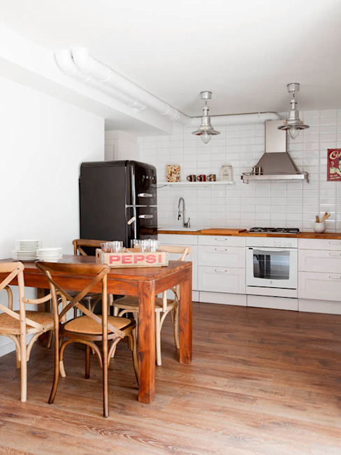 The Room Studio Cucina in stile scandinavo