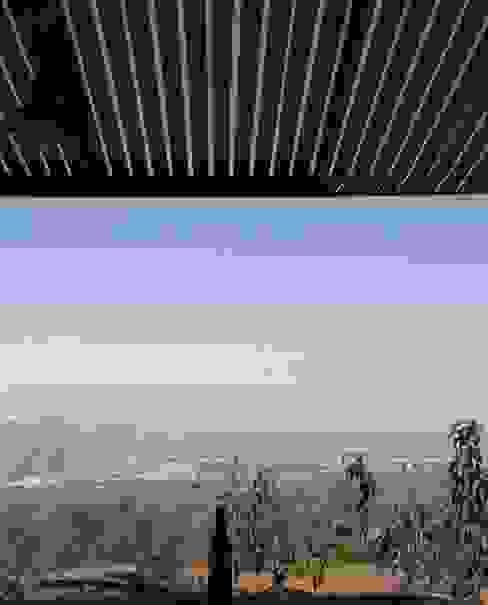 Refugio de montaña Jardines de estilo rural de Borja Garcia Studio Rural