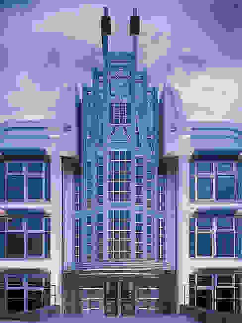 Lehmann Art Deco Architekt Eclectic style office buildings
