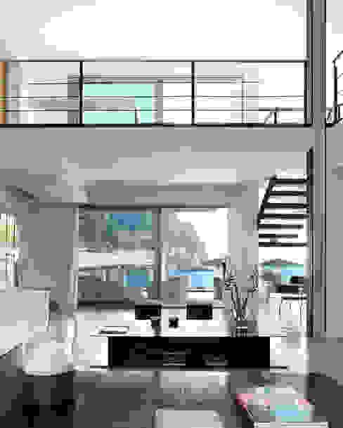 House at Andratx Minimalist Oturma Odası Octavio Mestre Arquitectos Minimalist