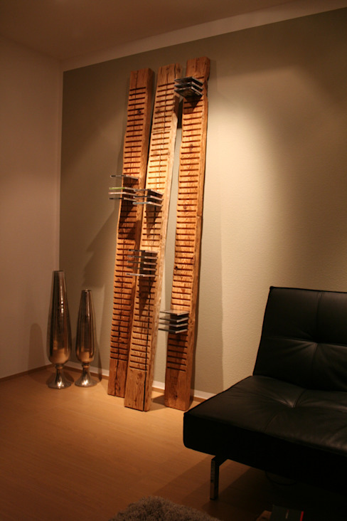 woodesign Christoph Weißer Living roomShelves