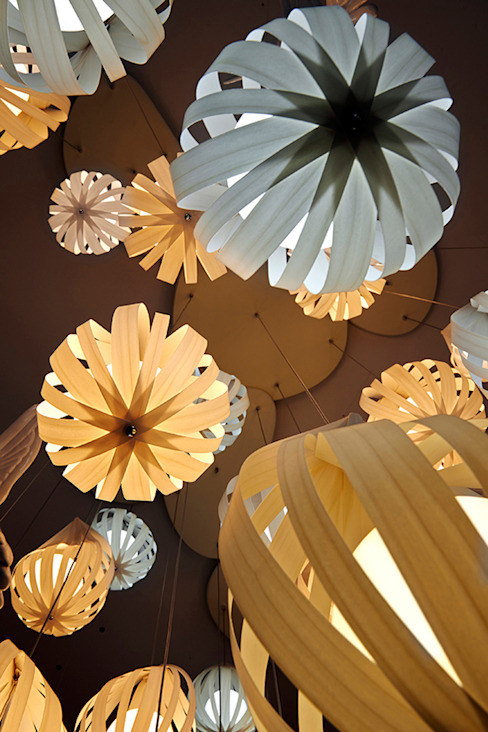Raindrop Clusters Javier Herrero* Studio Living roomLighting