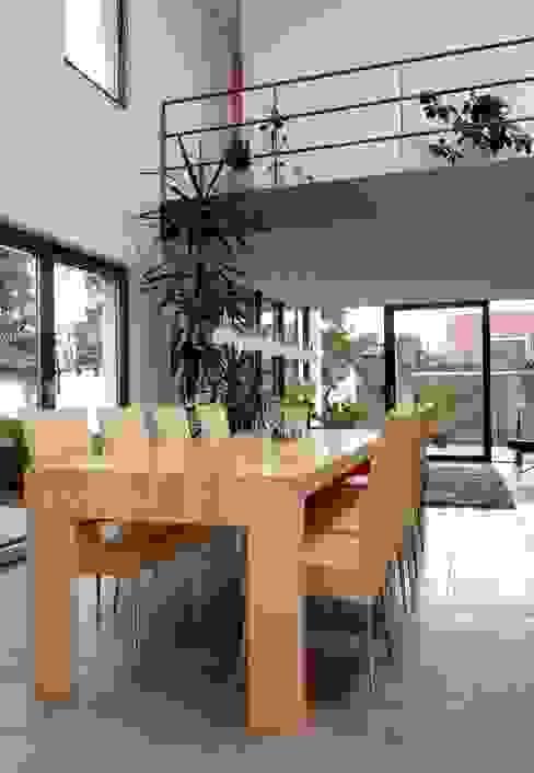 Haus Lenz in Überlingen Moderne Wohnzimmer von A r c h i t e k t i n Kelbing Modern