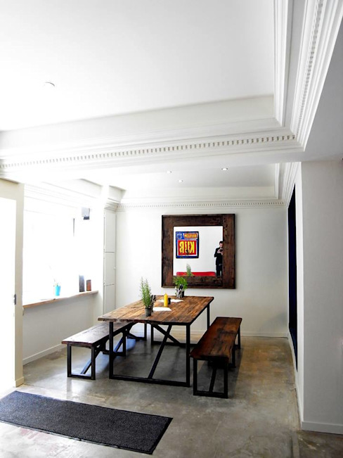 Gastronomy by Allegre + Bonandrini architectes DPLG, Industrial