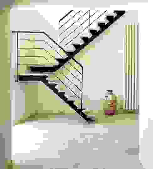 A1 house Hành lang, sảnh & cầu thang phong cách hiện đại bởi vps architetti Hiện đại