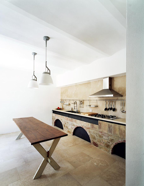 A1 house Modern style kitchen by vps architetti Modern