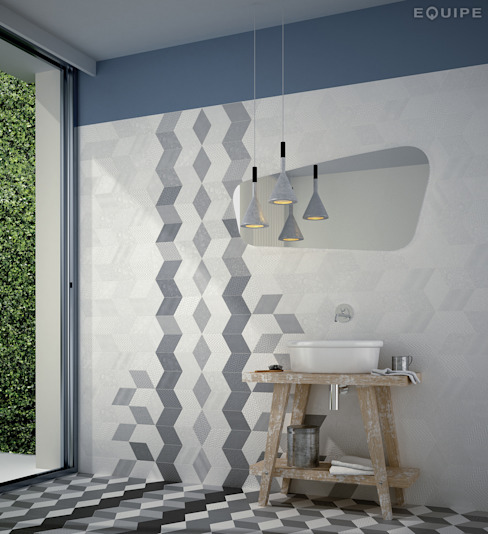 Modern walls & floors by Equipe Ceramicas Modern