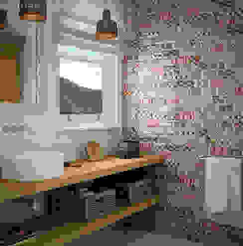 Mediterrane badkamers van Equipe Ceramicas Mediterraan Keramiek