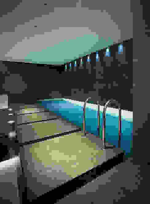 Subterranean Leisure Area London Swimming Pool Company Modern pool
