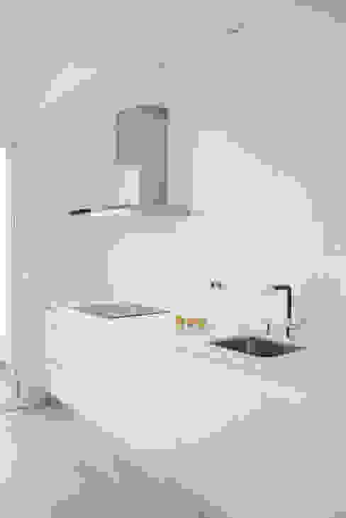 Piso de 67m2 Interior03 Cocinas de estilo moderno