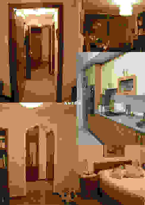 Piso de 67m2 Interior03 Salones de estilo moderno