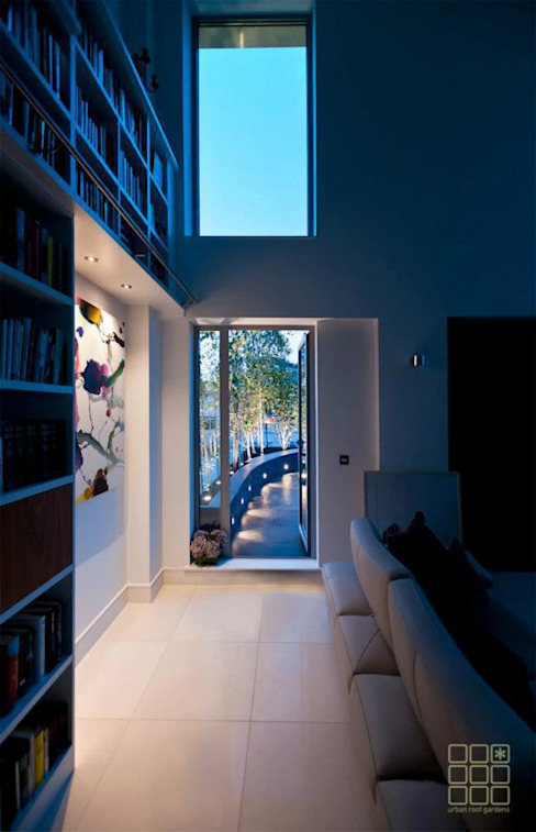 Victoria 1, London Balcones y terrazas de estilo moderno de Urban Roof Gardens Moderno