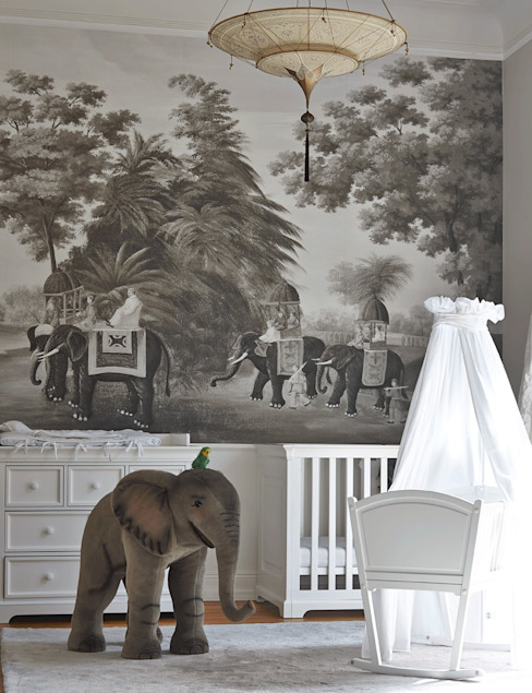 Nursery/kid's room by Julia Rafflenbeul Interior Architecture