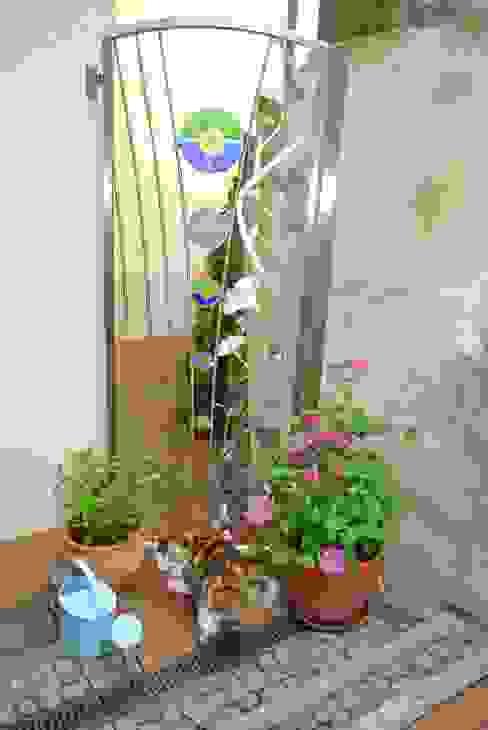 Stainless Steel Garden Gates Сад в стиле модерн от Edelstahl Atelier Crouse: Модерн