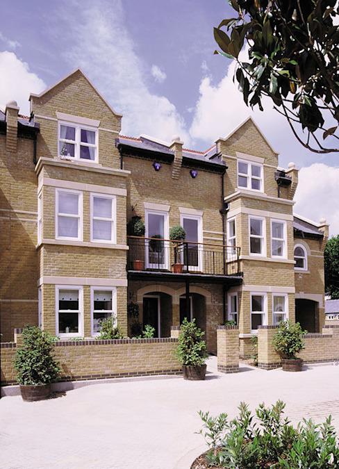 Verona Court, Chiswick, London 4D Studio Architects and Interior Designers Classic style houses