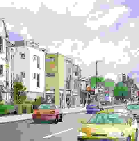Hampton Hill, Richmond, London Modern houses by 4D Studio Architects and Interior Designers Modern