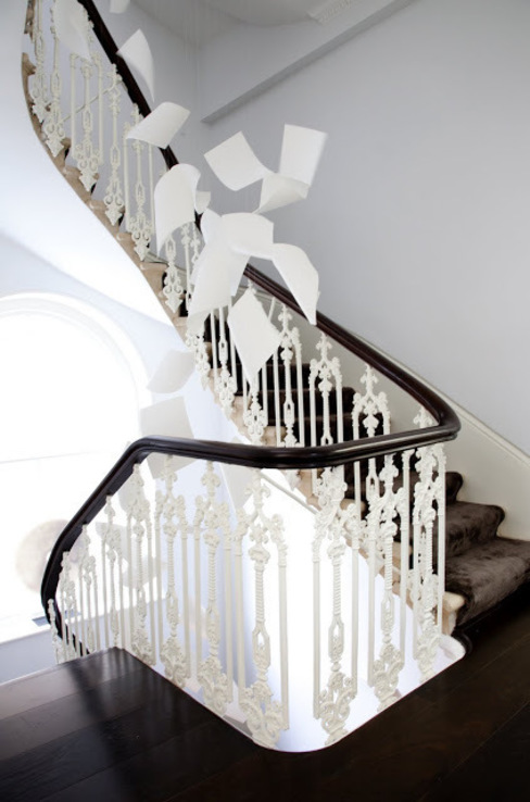 Historic House, Notting Hill, London:  Corridor & hallway by 4D Studio Architects and Interior Designers