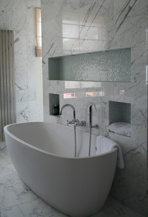 Italian Marble Bathroom by Amarestone
