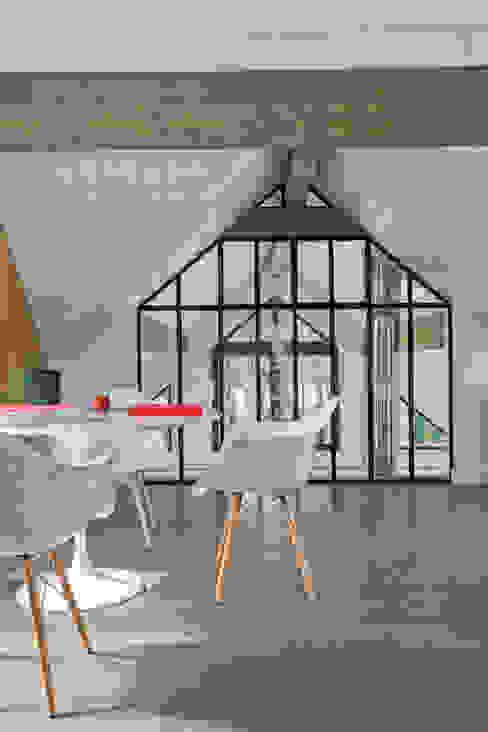 Maison ossature bois Chambre industrielle par blackStones Industriel