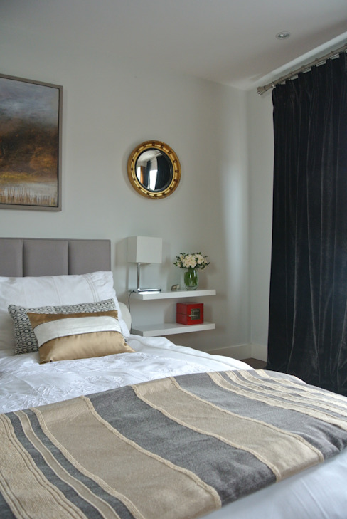 Bedroom Chambre moderne par STUDIO[01] LTD Moderne