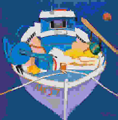Fishing boat by Charles Jamieson von 4D Studio Architects and Interior Designers Ausgefallen