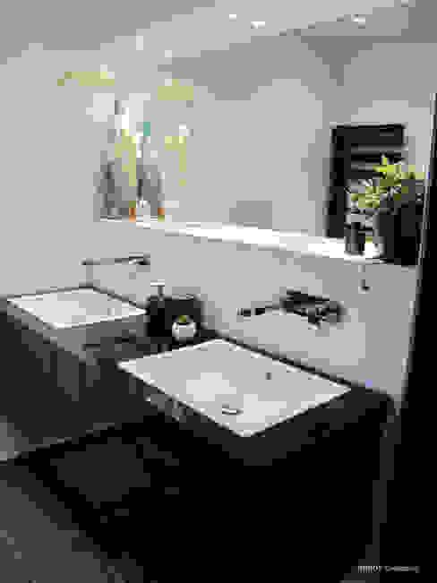 Salle de bain design Salle de bain moderne par INSIDE Création Moderne