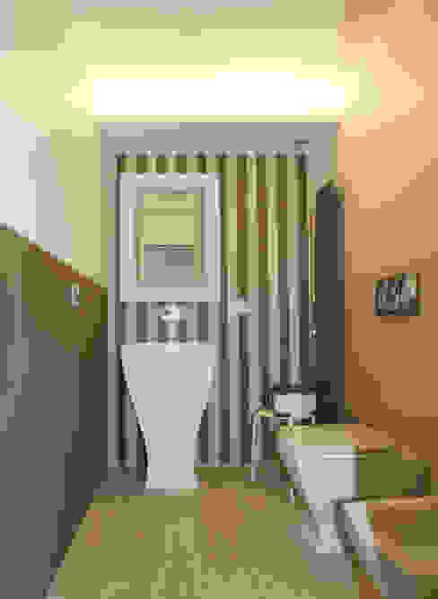 Casa L_01 Bagno moderno di Gimmigi Lab Architettura Moderno