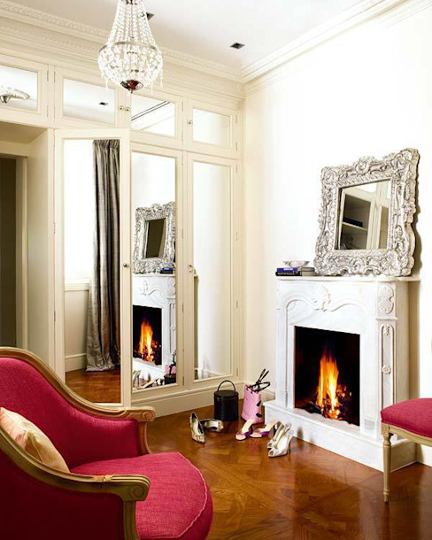 "home ""suite"" home Casas de estilo clásico de nikohl cadeau interiors Clásico"