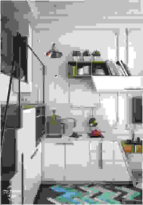 Kitchen by ToTaste.studio, Eclectic