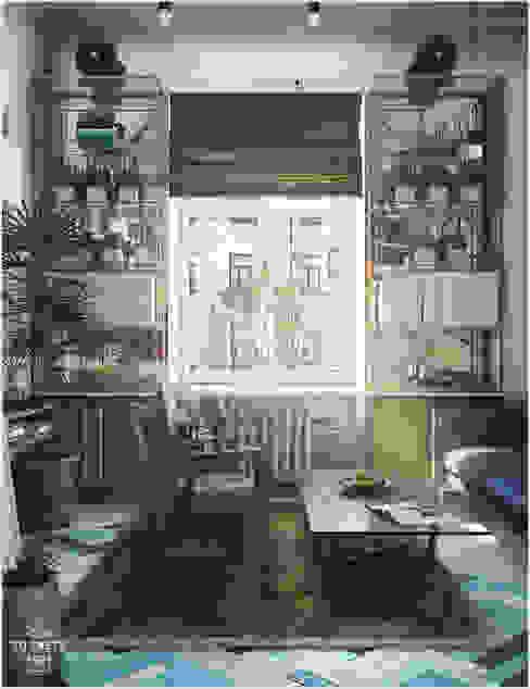 Гостиная Гостиные в эклектичном стиле от ToTaste.studio Эклектичный