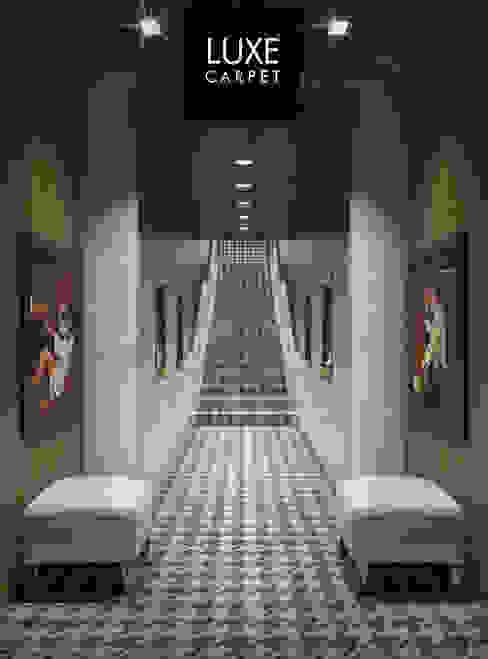 Houndstooth pattern carpet de LUXEcarpet Moderno