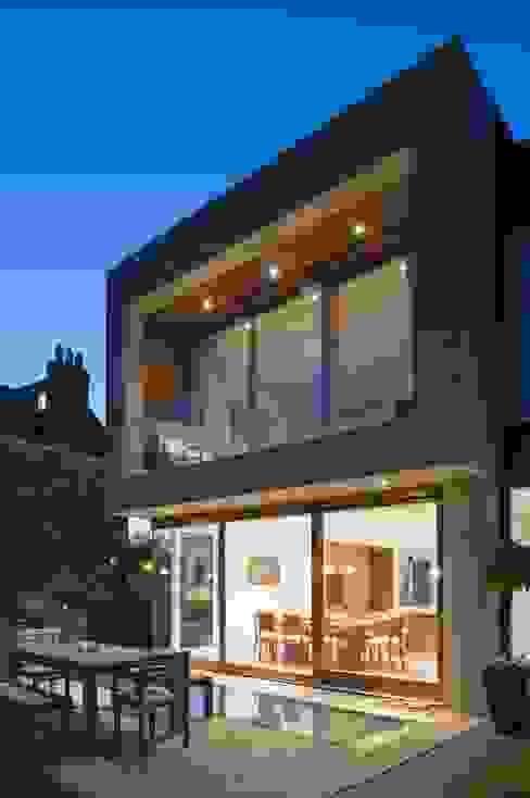 New villa in West Edinburgh - Terrace Moderne Häuser von ZONE Architects Modern