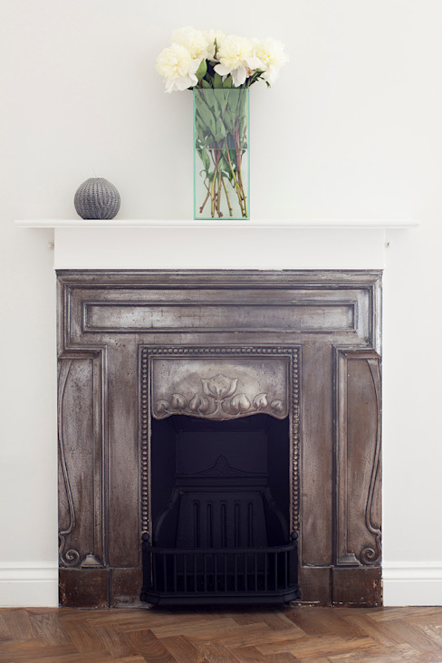 Oakhill Court, Putney Rustic style living room by Ardesia Design Rustic